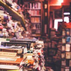 In dieser Artikelreihe stellen ich Ihnen eine tolle Möglichkeit zur Literaturverwaltung vor. Im Bild: Ein Haufen Bücher.